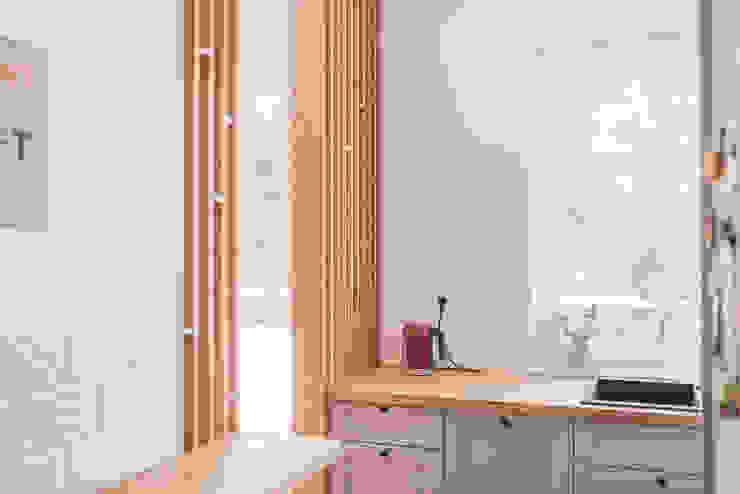 projekt aranżacji apartamentu w Gdyni: styl , w kategorii Kuchnia zaprojektowany przez em2,Nowoczesny