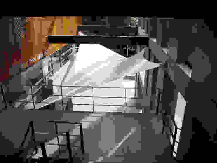 :: MEMBRANAS ARQUITECTONICAS - UNIVERSIDAD EL BOSQUE :: Balcones y terrazas de estilo moderno de Diseños & Fachadas SAS Moderno