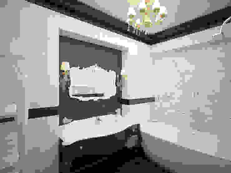 """Ванная для Ксении design by """"Vitta-group"""" Ванная в классическом стиле от homify Классический"""