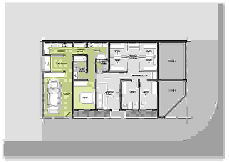 Ampliación Estudios y oficinas modernos de GPA studio Moderno
