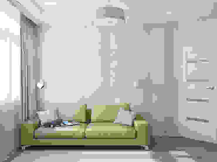 Soggiorno minimalista di Tatiana Zaitseva Design Studio Minimalista