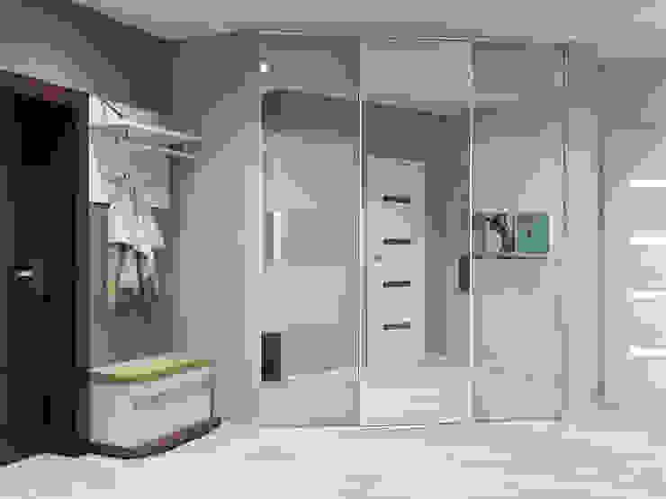 Ingresso, Corridoio & Scale in stile minimalista di Tatiana Zaitseva Design Studio Minimalista