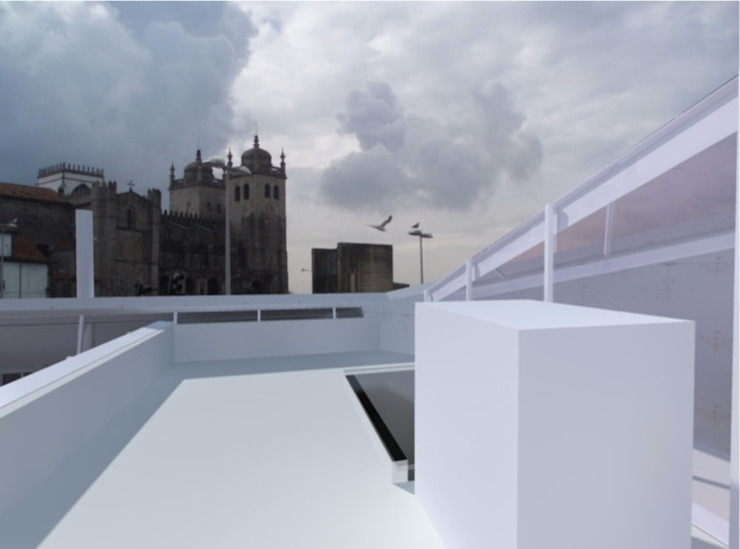 Casa Carlos Barreira - Sustentabilidade (modelo auto-suficiente) por Teoriabstrata Arquitetura Unip, lda