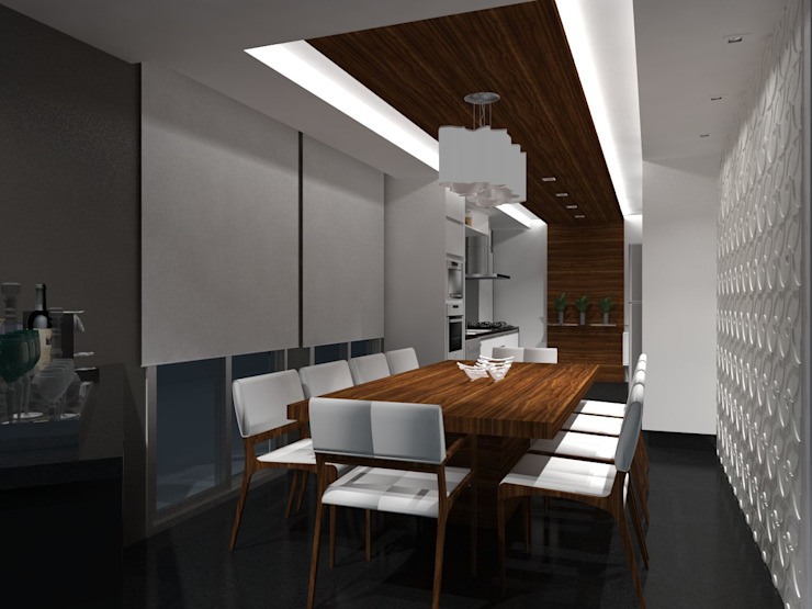 Cocinas modernas: Ideas, imágenes y decoración de Daniela Hescheles Arquitetura Moderno Madera Acabado en madera
