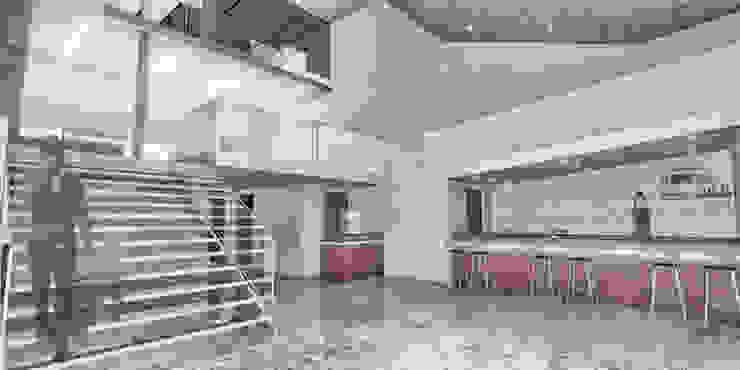 Pablo Anzilutti   Arquitecto 書房/辦公室 水泥