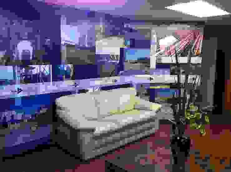 IQUISA Estudios y despachos modernos de Liferoom Moderno