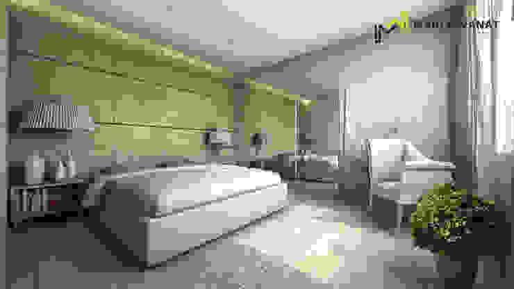Sypialnia elegancka od Marta Wanat Projektowanie Wnętrz