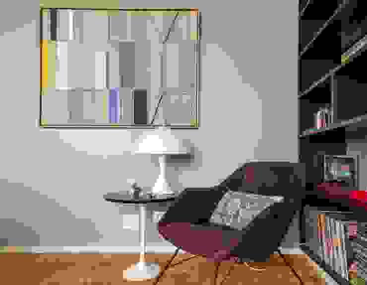 acr arquitetura Living room Wood Purple/Violet