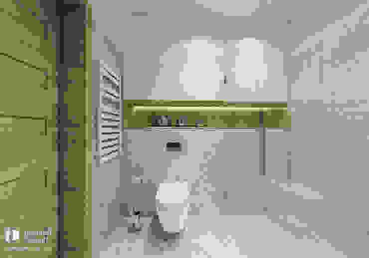 Łazienka w Opolu Nowoczesna łazienka od Inspired Design Nowoczesny