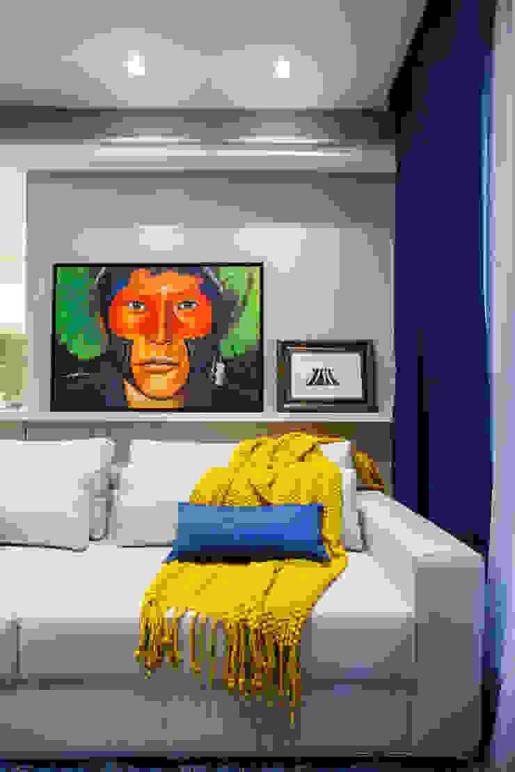 Estúdio HL - Arquitetura e Interiores Salones de estilo ecléctico