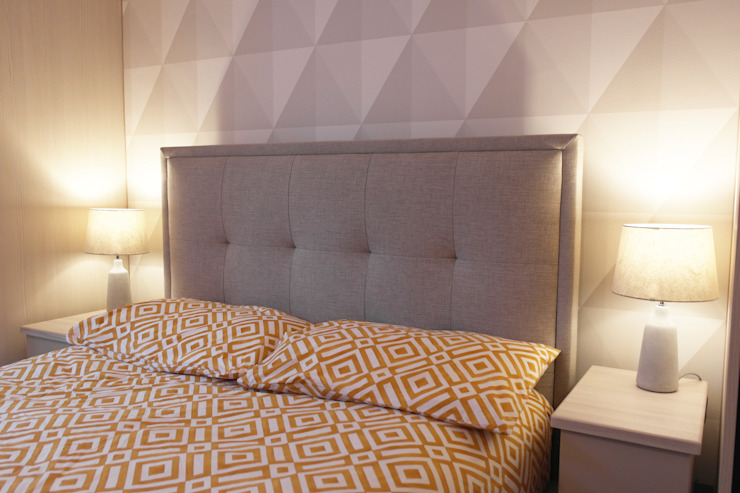 St John's Wood Modern style bedroom by Patience Designs Modern