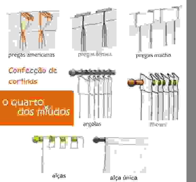 Confecção de cortinas por o quarto dos miúdos Moderno Têxtil Ambar/dourado