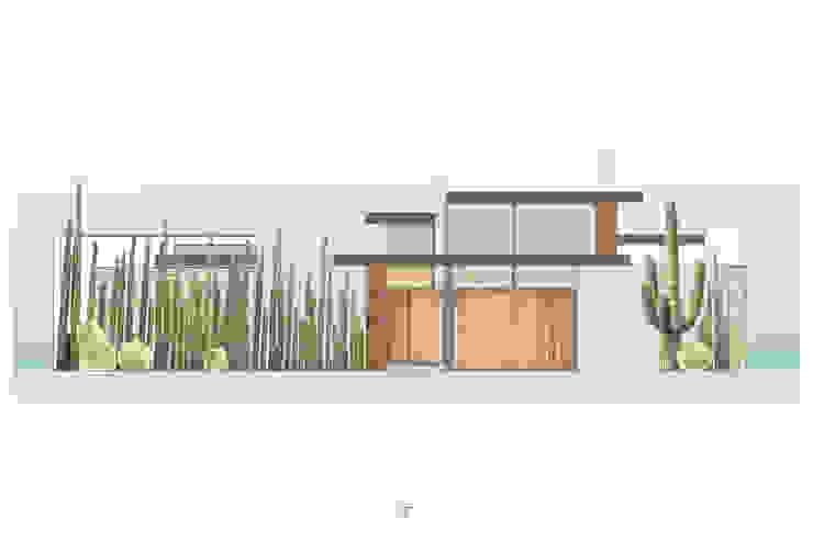 Casa 0316. Casas modernas de Lozano Arquitectos Moderno Concreto