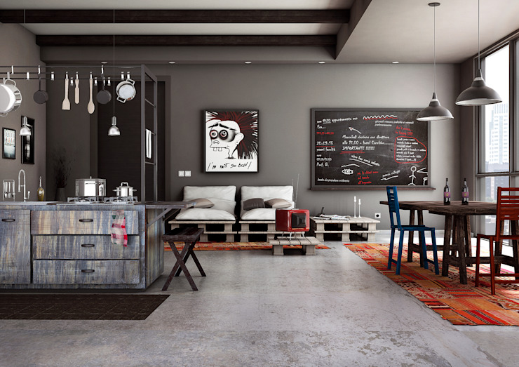 Cozinhas industriais por Giuseppe Balestri Industrial
