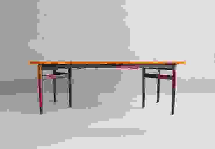 Rosewood Dining Table by Arne Vodder por Retro Age Escandinavo Madeira Acabamento em madeira