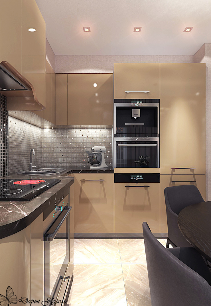 Cocinas de estilo minimalista de Your royal design Minimalista