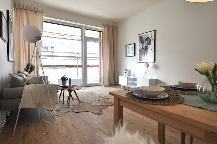 غرفة السفرة تنفيذ Karin Armbrust - Home Staging,