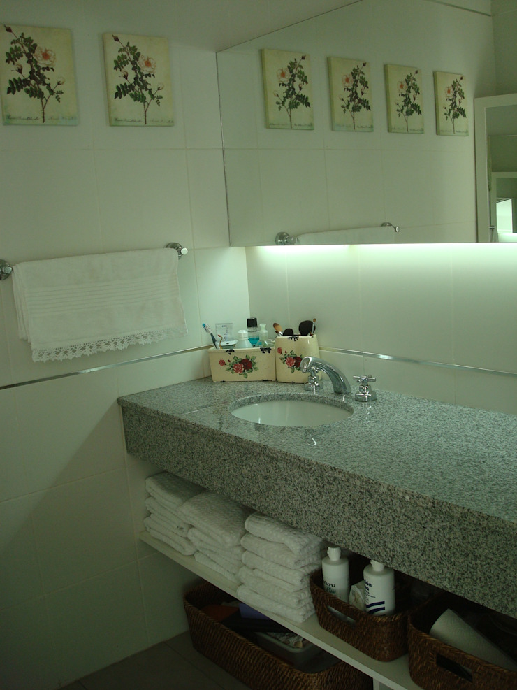 Estudio Arquitectura Integral BathroomLighting