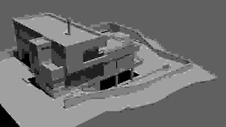 Maqueta Casas minimalistas de D&D Arquitectura Minimalista