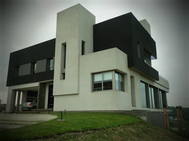 Vivienda Country Lomalinda Casas minimalistas de D&D Arquitectura Minimalista