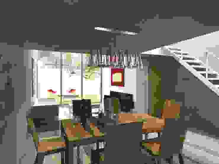 CaSA LINDA VISTA Design Process Comedores modernos de CoRREA Arquitectos Moderno