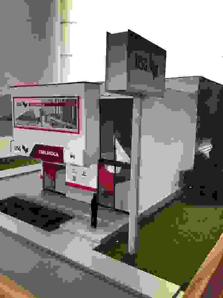 BoDEGA USG PUEBLA Design Process Espacios comerciales de estilo moderno de CoRREA Arquitectos Moderno