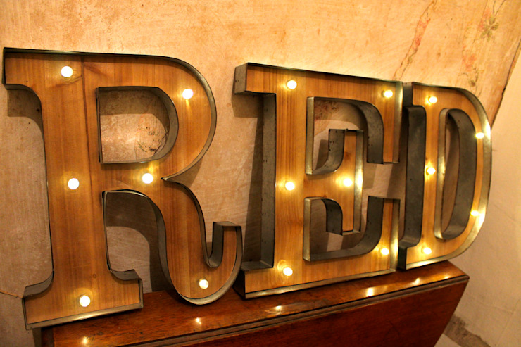 Vintage Marquee Light Up Letters Wall Signs Illuminated Letter Carnival Circus Lighted Objects Wedding Decoration Homify