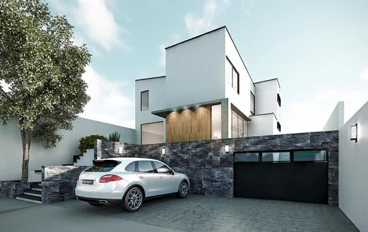 CaSA CC3 Design Process Casas modernas de CoRREA Arquitectos Moderno