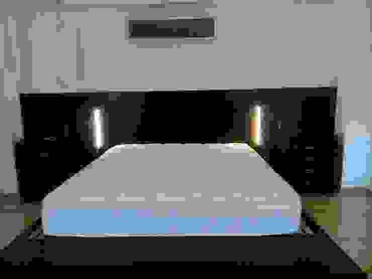luces led en laterales de DRIS equipamiento Moderno