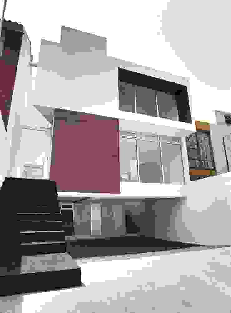 CaSA ASBUN Finished Work Casas modernas de CoRREA Arquitectos Moderno