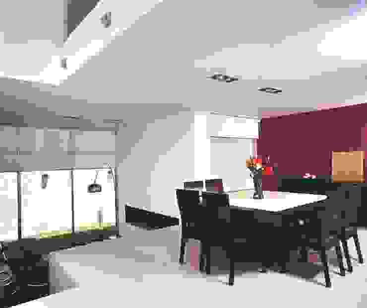 CaSA ASBUN Finished Work Comedores modernos de CoRREA Arquitectos Moderno