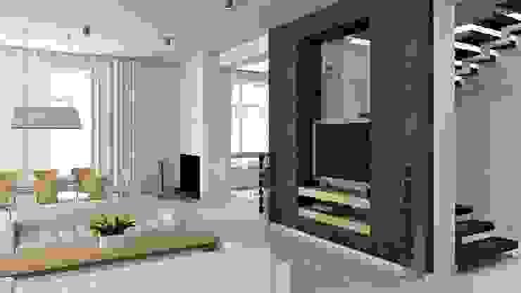 İç Mekan Tasarım ve Uygulamaları Modern Oturma Odası homify Modern