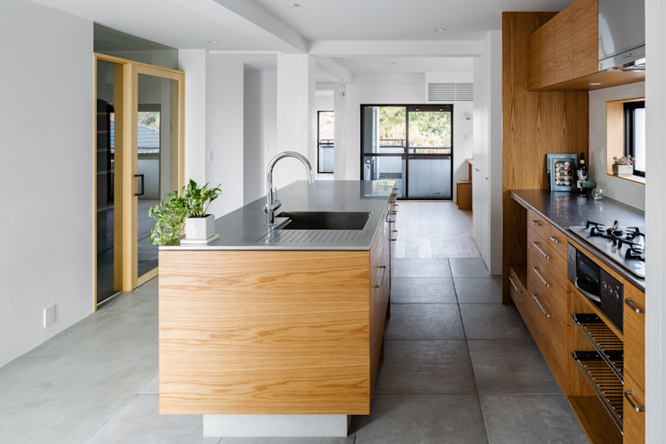 内田雄介設計室 現代廚房設計點子、靈感&圖片