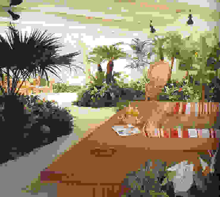 地下にある庭 (有)ハートランド 地中海風 庭