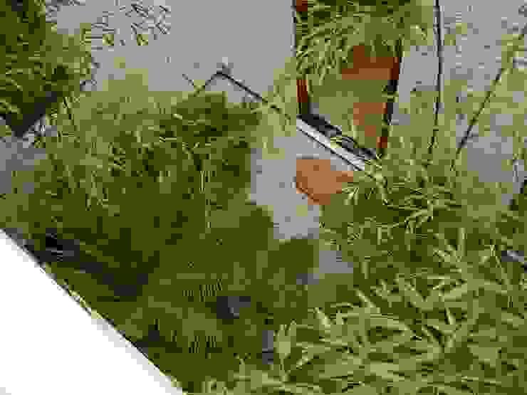 Coutyard (有)ハートランド 和風デザインの テラス