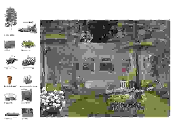 Jardin moderne par (有)ハートランド Moderne