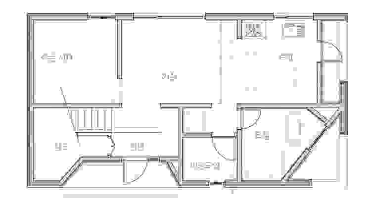 사ㅣ집 사이집, 새집 모던스타일 거실 by 한글주택(주) 모던