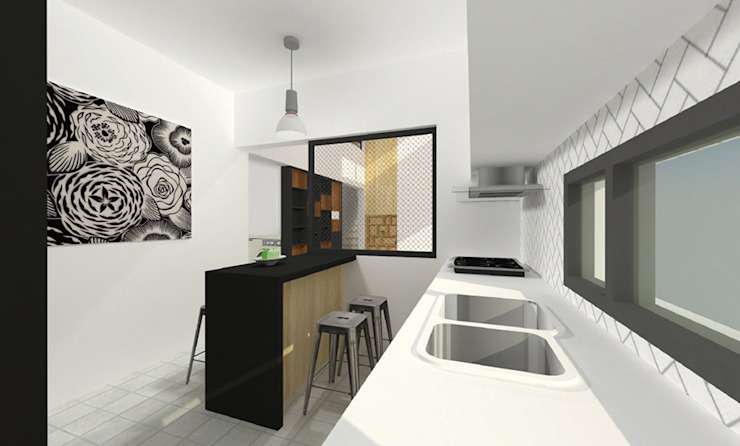 Modern kitchen by 한글주택(주) Modern