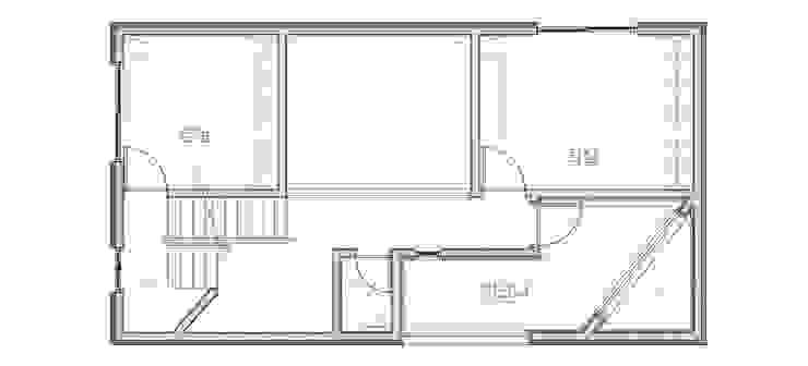 한글주택(주) Moderne Schlafzimmer