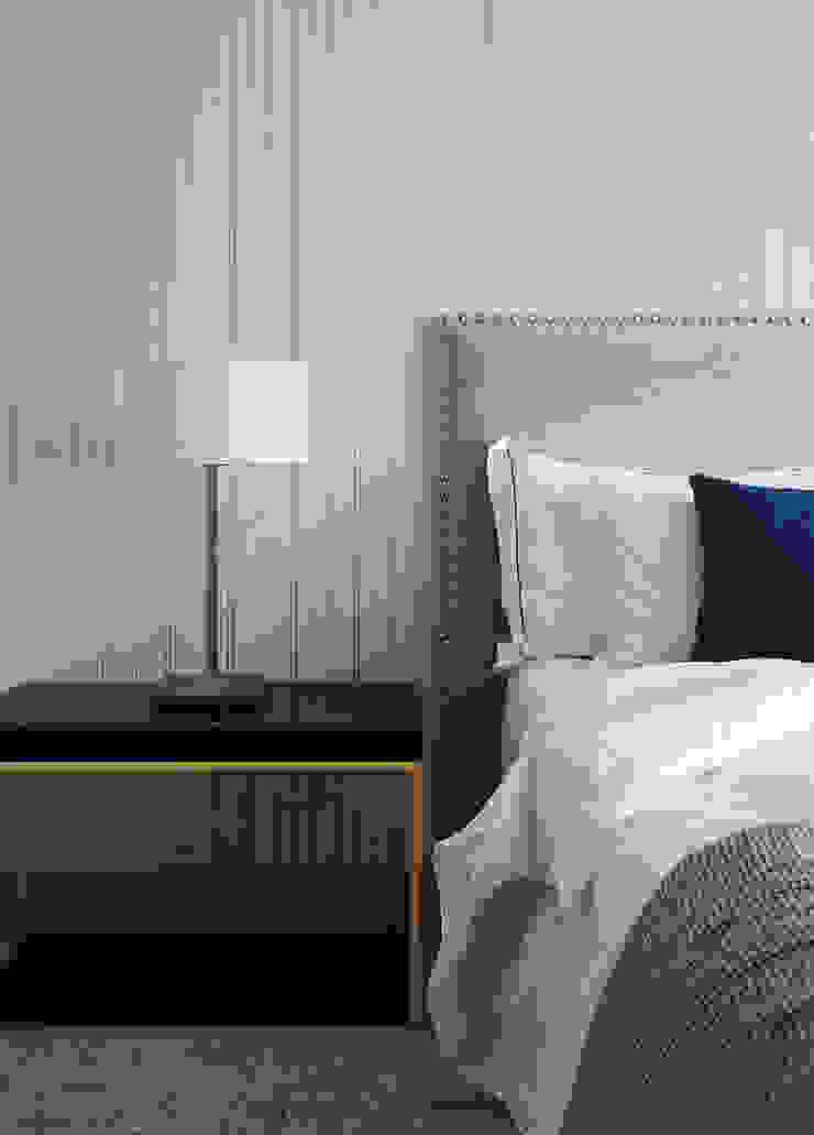 Casa Guadalmina Dormitorios de estilo mediterráneo de MLMR Architecture Consultancy Mediterráneo