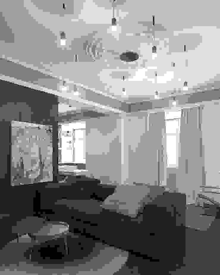 proposto - sala Salas de estar ecléticas por Varq. Eclético