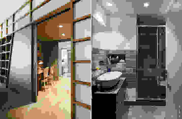 모던스타일 욕실 by Principioattivo Architecture Group Srl 모던
