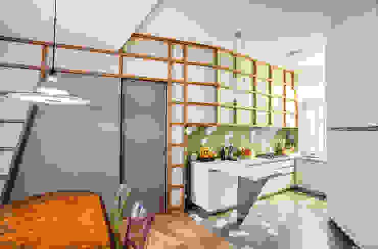 3.8.1 Cucina moderna di Principioattivo Architecture Group Srl Moderno