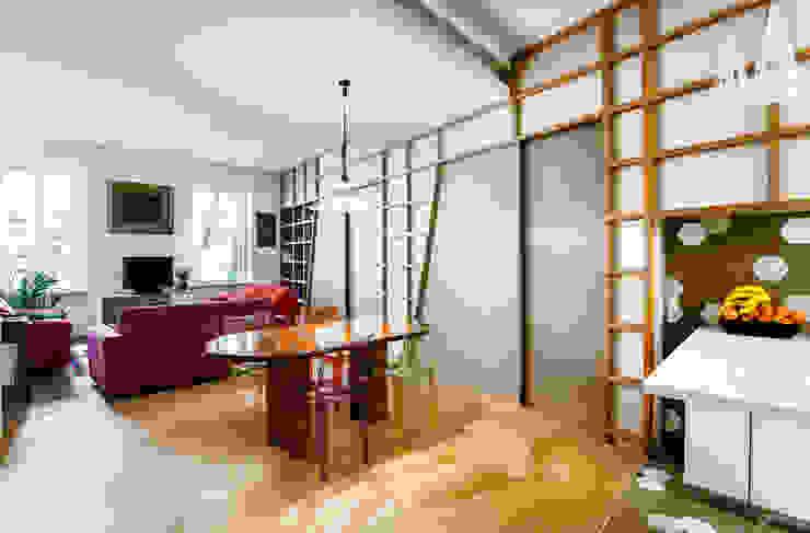 모던스타일 거실 by Principioattivo Architecture Group Srl 모던