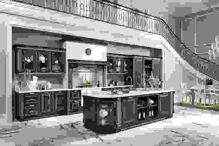 Home cucine srl Italien di home cucine Mediterraneo Legno Effetto legno