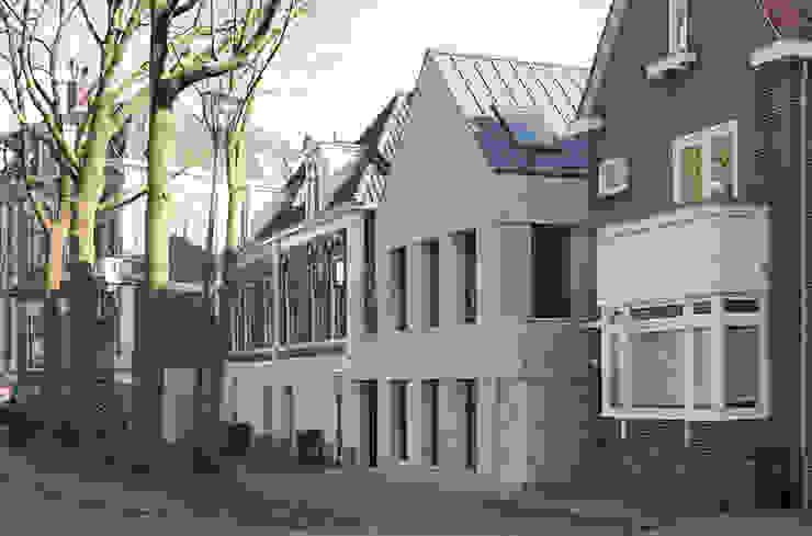 straatgevel Minimalistische huizen van Tim Versteegh Architect Minimalistisch Steen