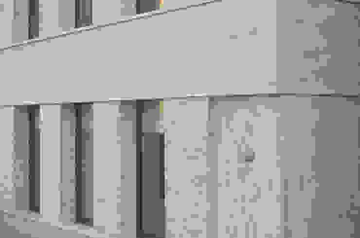 metselwerkdetail Minimalistische huizen van Tim Versteegh Architect Minimalistisch