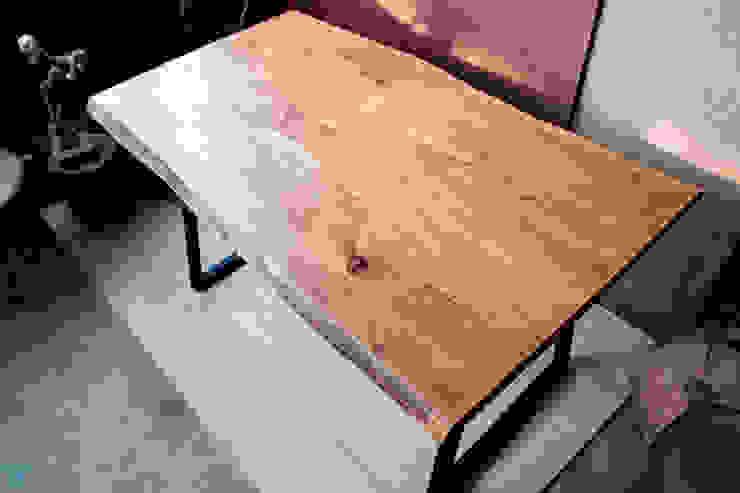 Bridge Yemek Masası odywood Endüstriyel Cam