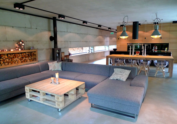 Salas modernas de seweryn pracownia Moderno