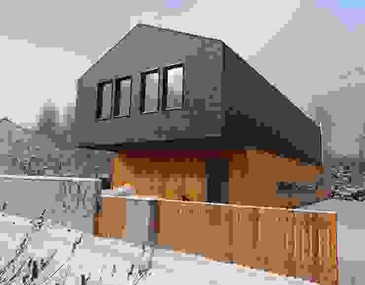 Casas modernas por seweryn pracownia Moderno
